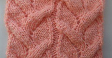 Ажурные косы спицами: схемы и описание вязания
