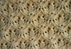 Ажурные узоры спицами: схемы с описанием, фото
