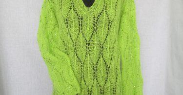 Ажурный пуловер спицами: схемы и описание для женщин