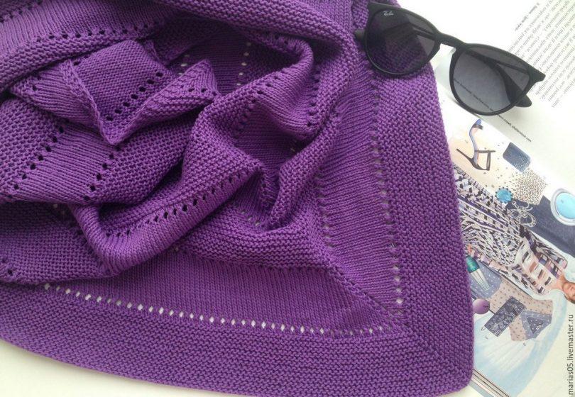 Бактус спицами: схемы и описание вязания