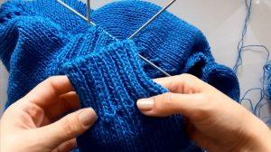 Как закончить вязание спицами красиво (последний ряд)?