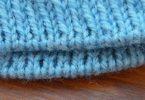 Красивый край при вязании спицами: как вязать?