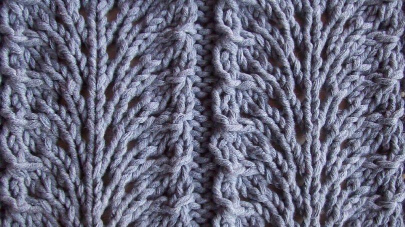 Мелкие узоры спицами (красивые): схемы