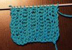 Полупатентная резинка спицами: схемы вязания
