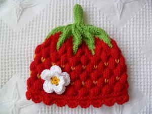 Узор спицами ягодка малинка: с чего начать