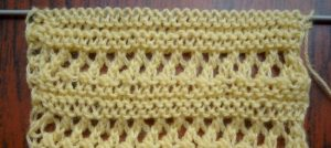 Ажурные горизонтальные полосы
