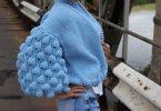 Узор шишечки спицами: схемы и описание вязания