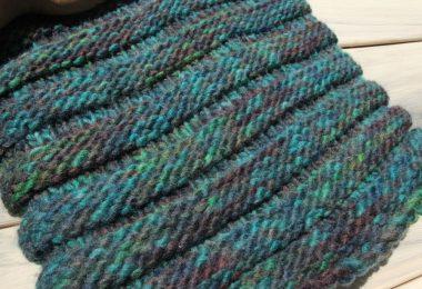 Вязание английской резинки спицами для начинающих (схемы, фото)