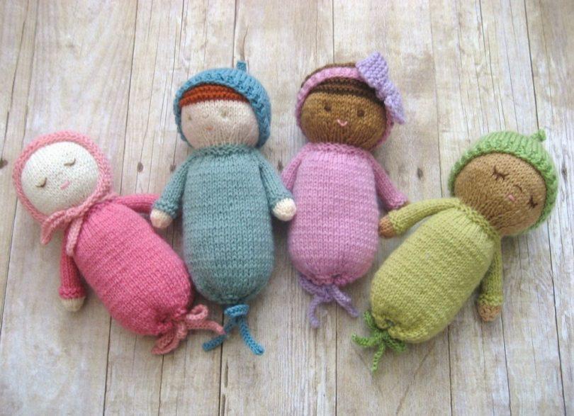 Вязание игрушек спицами со схемами и описанием