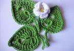 Вязание листочков спицами: схемы и описание