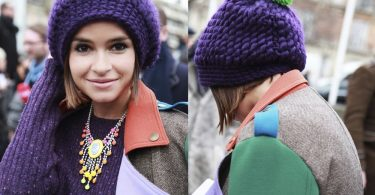 Вязание объемных шапок спицами: схемы и описание
