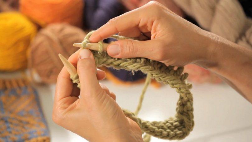 Вязание по кругу спицами для начинающих (модели, узоры)