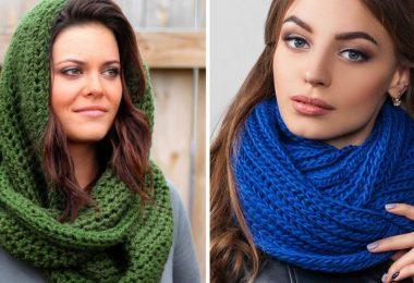 Вязание шарфа спицами: схемы и описание с фото