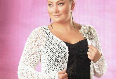 Вязание спицами для полных женщин: модели, схемы, узоры