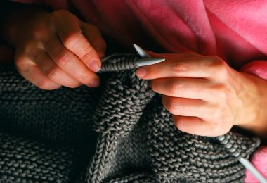 Вязание спицами: английская резинка, шарф (схемы)