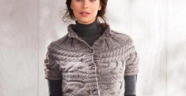 Вязание жилета спицами: фото и схемы с описанием