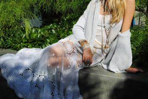 Юбка, вязанная спицами: схема и описание для женщин