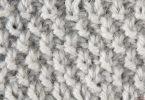 Жемчужный узор спицами: схемы вязания