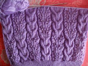 Жгуты спицами: схемы с описанием вязания