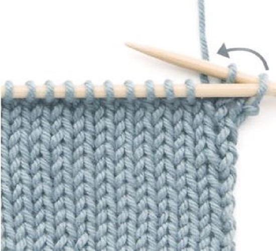 как закончить вязание спицами