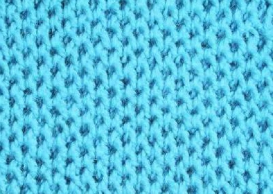 Простые узоры со снятыми петлями спицами: мастер-класс