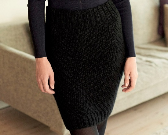 Юбка спицами: схемы и описание для женщин