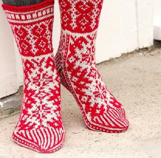 Как связать красивые носки спицами: схемы