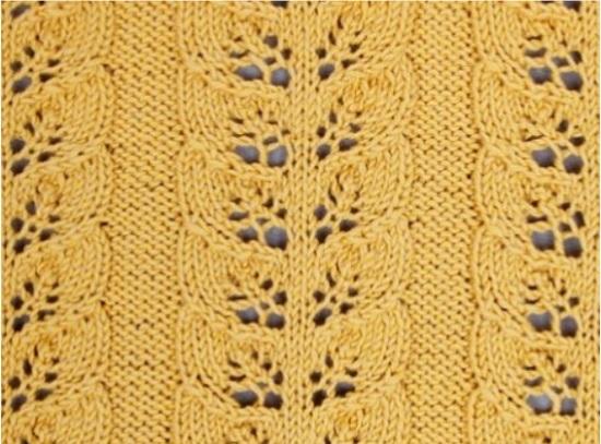 Придерживаясь этой схемы, вяжите пуловер 8 см