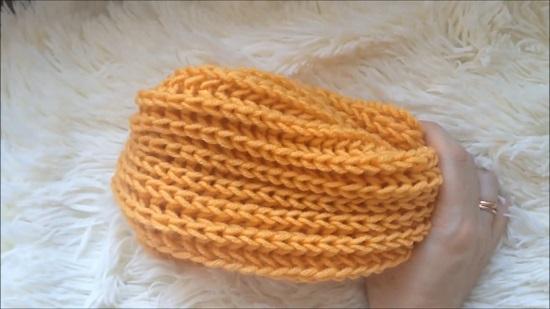 Вяжем шарф спицами: схемы и описание
