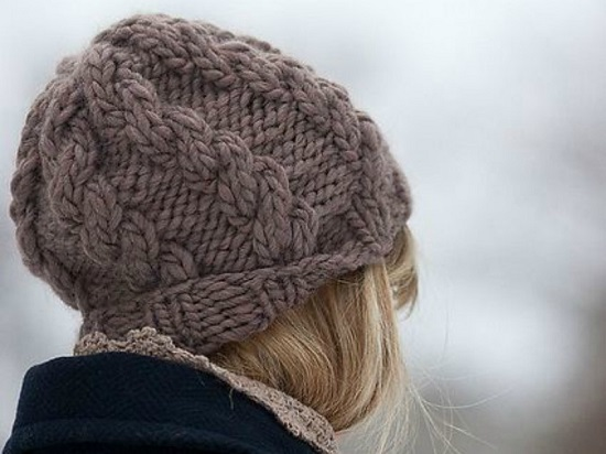 На базе этой модели можно связать оригинальную шапку