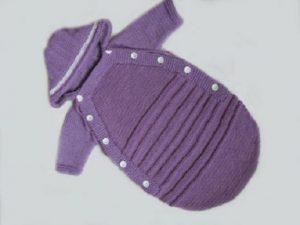 Мастер-класс: конверт для новорожденного спицами с описанием