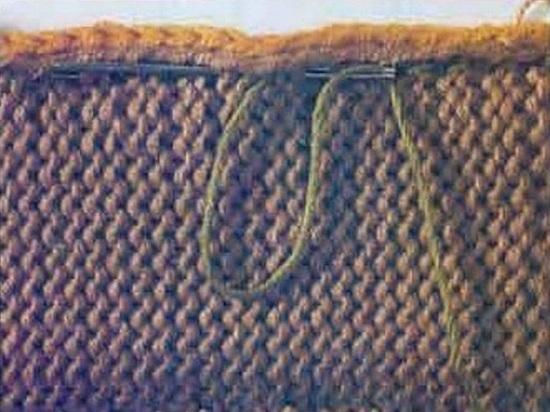 трикотажных швов, которые используются в вязании спицами