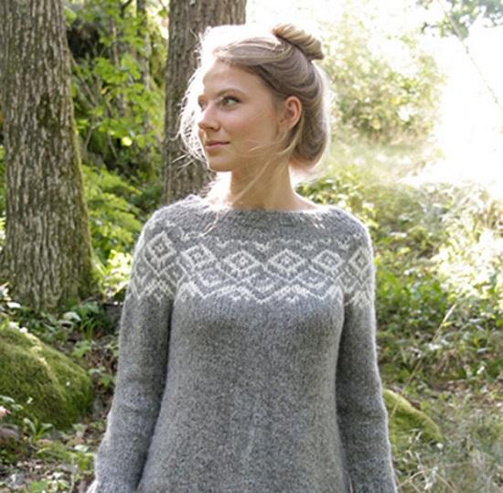Узоры для свитера женского спицами