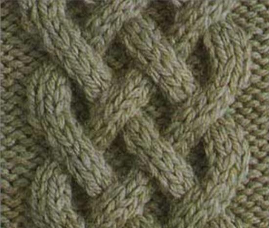 ирландская тема в вязании