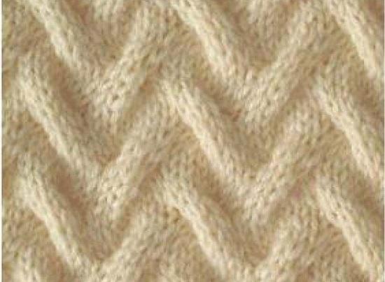 свяжем модный объемный свитер спицами