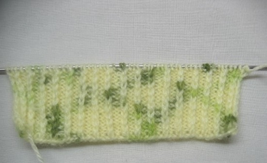 манжета будет представлять собой вязание