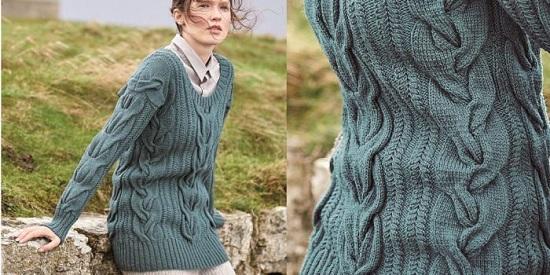 вязать свитер спицами женский со схемами