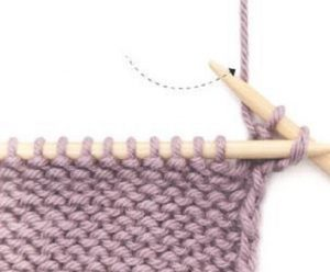 заканчивается вязание и изнаночными петлями