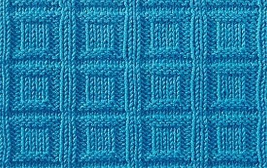 Узор квадраты в клетке