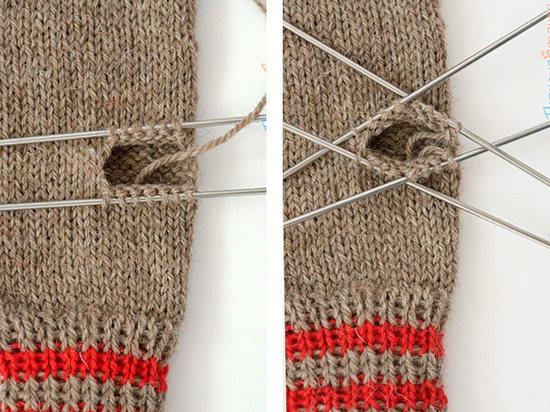 Вязание рукавиц спицами: схемы и описание