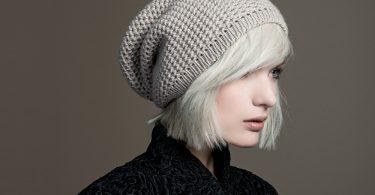 Узор для шапки спицами: схема
