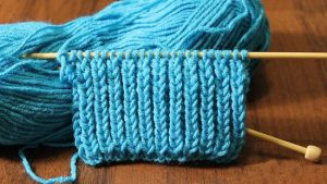 Вязание двойной резинки спицами: описание