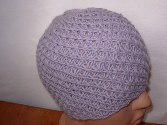 Взрослая шапка узором Звездочки: как вязать?
